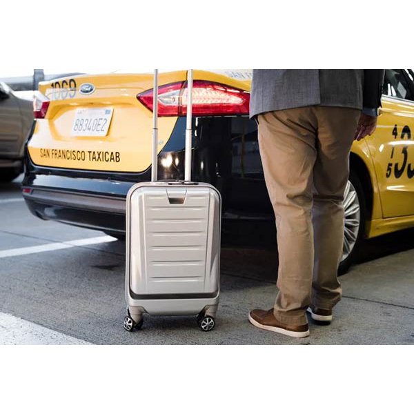 SkyValet Luggage: Smart Luggage with Shark Wheels