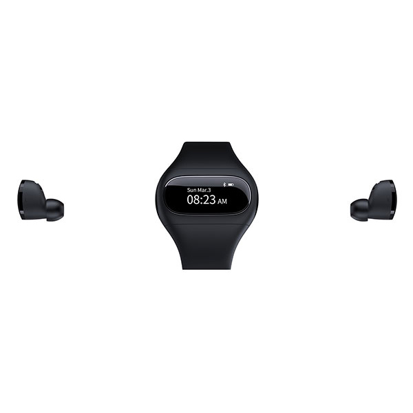aipower:Wireless Earbuds Charged Right on Your Wrist