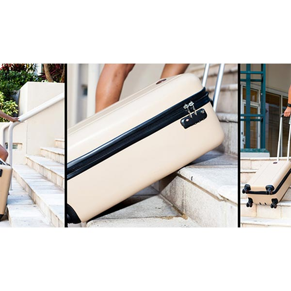 TraxPack Luggage: World's First Stair Climbing Suitcase