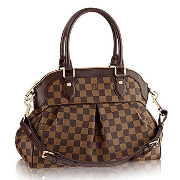 Louis Vuitton Damier Ebene Canvas Trevi PM N51997