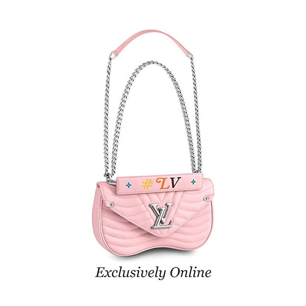 Louis Vuitton Louis Vuitton New Wave Chain Bag MM M52707
