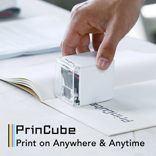 PrinCube-The World's Smallest Mobile Color Printer