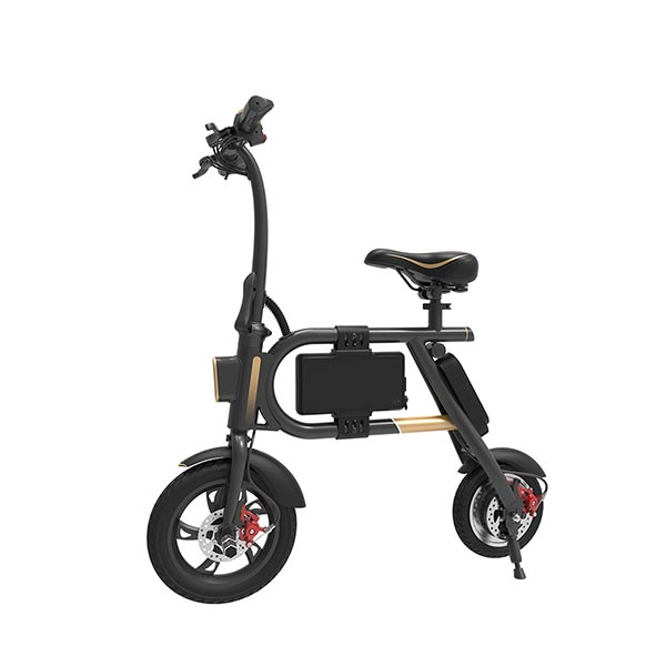 A mini e-bicycle P1F