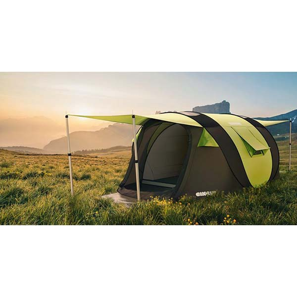 Cinch! The World's Smartest Pop-Up Tent!